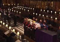 Những hình ảnh cực quý tộc trong đám tang Hoàng thân Philip