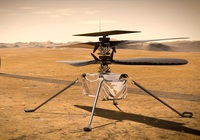 Khoảnh khắc chiếc máy bay trực thăng đầu tiên của NASA cất cánh trên sao Hỏa