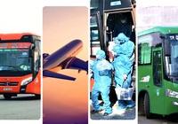 Quảng Ngãi:  1.360 lao động từ vùng dịch phía Nam sẽ về quê bằng máy bay và xe khách
