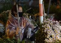 Hoa mất giá, tiểu thương chợ hoa lớn nhất Thủ đô lo lắng trong ngày 20/10