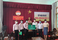 NHCSXH ủng hộ 300 triệu đồng cho các đơn vị tuyến đầu TP Đà Nẵng phòng, chống dịch Covid-19
