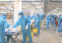 200 thầy thuốc Quảng Ninh đã đến Bắc Giang, tham gia tuyến đầu chống dịch
