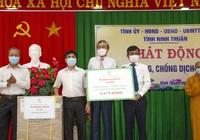 Ninh Thuận: Trung Nam Group tặng 5,2 tỷ đồng mua vaccine, hỗ trợ phòng chống dịch Covid-19