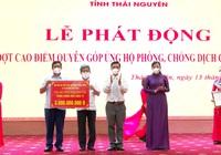 Thái Nguyên: Tiếp nhận gần 25 tỷ đồng ủng hộ phòng chống dịch Covid-19 chỉ trong một ngày