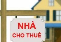 Phó Thủ tướng chỉ đạo gỡ vướng về việc thu thuế cho thuê nhà