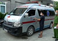 Dùng xe cứu thương chở người trái phép từ Nghệ An ra Hà Nội với giá 3 triệu đồng
