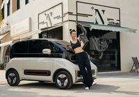 Baojun KiWi EV 2021 sở hữu kích thước vô cùng nhỏ gọn, giá 10.800 USD