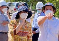 Quảng Ngãi: Chủ tịch tỉnh kiểm tra dự án cầu 245 tỷ chờ đường dẫn