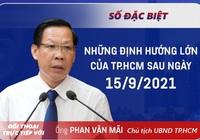 [TRỰC TIẾP] Chủ tịch UBND TP. HCM, ông Phan Văn Mãi đối thoại trực tiếp với người dân