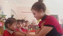 Báo NTNN/Điện tử Dân Việt khởi công điểm trường mầm non ở xã vùng cao biên giới Sơn La