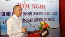 Bộ NNPTNT tổ chức Hội nghị triển khai Chỉ thị về an toàn thực phẩm: Sẽ tăng cường quản lý Nhà nước về ATTP
