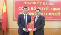 Hà Nội: Bí thư Quận ủy Tây Hồ Đỗ Anh Tuấn được điều động giữ trọng trách mới