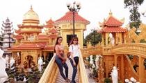 Chùa Phước Thành có quần thể tượng Phật đạt kỷ lục Việt Nam và truyền thuyết về đôi chim Hồng Hạc ở tỉnh An Giang