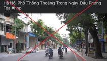 Tung tin Hà Nội phong tỏa, Youtuber bị phạt 12,5 triệu đồng