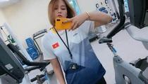 """""""Gu"""" bạn trai """"bá đạo"""" của chuyền hai Nguyễn Linh Chi và đồng đội"""