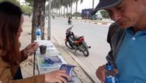 """ĐT Việt Nam - CHDCND Triều Tiên: Phe vé """"mắc màn"""" trước cổng VFF"""
