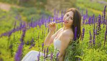 Ảnh, clip: Rực rỡ cánh đồng hoa nữ hoàng xanh như trời Âu ở Hà Nội