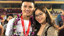 Fan hâm mộ nuối tiếc cho chuyện tình ngọt ngào của Quang Hải và hot girl Nhật Lê