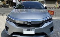 Honda City E 2021 lướt xuống giá khó tin sau 2 tháng rao bán