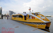 TP.HCM: Tàu buýt đường sông sẽ hoạt động lại từ ngày 16/10