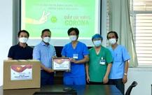 Vicoland Group trao tặng 5.000 bộ test nhanh tiếp sức Đà Nẵng chống dịch