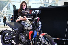 Triumph Trident 660 - Mẫu nakedbike sở hữu nhiều công nghệ mới