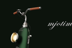Mjotim - xe điện xanh lá mang cảm hứng từ Porsche