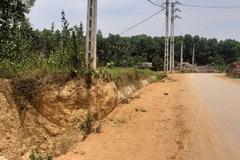 """Cột điện """"ngáng"""" tiến độ đường nối quốc lộ 37: Điện lực Yên Bái lên tiếng"""