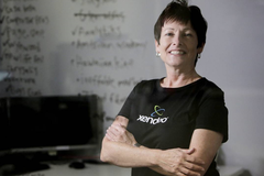 """Nữ CEO công nghệ có tài tiên đoán chỉ ra """"con đường màu xanh"""" cho doanh nghiệp nhỏ"""