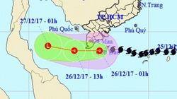 """Biển Đông """"nuốt chửng"""" bão Tembin, Nam Bộ thoát nạn mùa Giáng Sinh"""