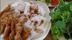 Bánh mướt, khoai xéo đặc sản quê hương xứ Nghệ