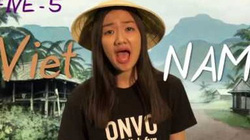 Cô gái đáng yêu dạy đếm số tiếng Việt siêu hài hước hút hàng triệu lượt xem