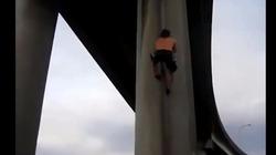 Video clip: Anh chàng này có kĩ năng leo trèo phải nói là tuyệt đỉnh
