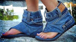 A đôi giầy đây giồi