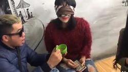 Troll em gái xinh ăn phân gà cười rụng rốn