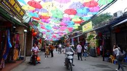 Hình ảnh đặc sắc tại làng lụa Vạn Phúc trước giờ khai mạc Tuần lễ văn hoá du lịch