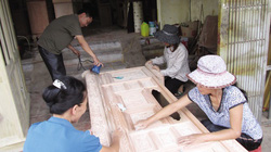 Có vốn của Hội, người làm mộc Nam Định liên kết phát triển nghề