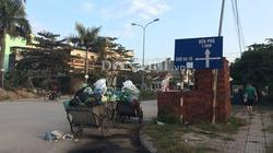 Người nằm viện, không ăn nổi cơm vì... rác bủa vây