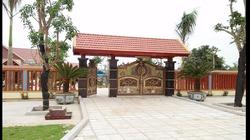 Choáng ngợp và giật mình với khu biệt phủ không phép 5.000m2 của cán bộ công an huyện ở Thanh Hóa