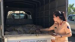 1 tấn thực phẩm bốc mùi hôi thối bị tạm giữ trên đường tiêu thụ từ Hà Nội vào Thanh Hóa
