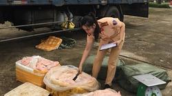 2,5 tấn thịt lợn thối phân hủy suýt nữa thành món ăn