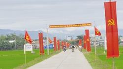 Quảng Nam bứt phá trong xây dựng nông thôn mới