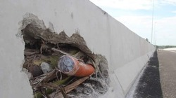 """Sự thật bê tông """"cốt chuối"""" trên cao tốc Đà Nẵng - Quảng Ngãi"""