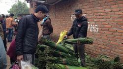 Đặc sắc phiên chợ quê tấp nập ngày giáp Tết vùng ngoại thành Hà Nội
