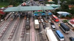 Phần luồng giao thông qua thị xã Cai Lậy để chuẩn bị thu phí BOT