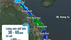 Dự báo thời tiết  mưa diện rộng ở Trung Bộ khả năng kéo dài đến hết 29/11