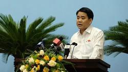 """Chủ tịch Hà Nội Nguyễn Đức Chung """"xin rút kinh nghiệm sâu sắc"""" vụ nước sông Đà"""