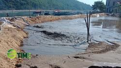 Quảng Ninh: Xã đảo tự ý lấp 9.000 m2 mặt biển bằng bùn thối