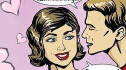 Truyện cười Cá tháng Tư: Thói quen của nụ hôn đầu