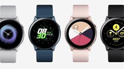 Đồng hồ thông minh Galaxy Watch Active sẽ lên kệ từ 10/4, giá 5,49 triệu đồng
